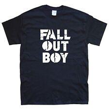 FALL OUT BOY T-SHIRT sizes S M L XL XXL colours Black, White