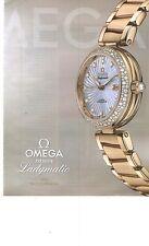 PUBLICITE 2012  OMEGA la montre LADYMATIC