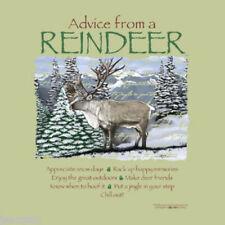 Sweatshirt Reindeer Advice From Nature Sweatshirt S M L XL NWT Green