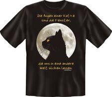 GEIL stampato Divertente T-Shirt shirts - Die OCCHI UNA GATTO - REGALO