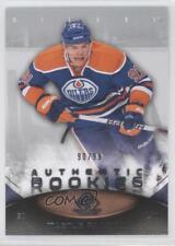 2010 SP Game Used Edition 196 Magnus Paajarvi Edmonton Oilers Rookie Hockey Card