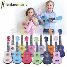 """Ukulele uke 21"""" children, kids, beginner acoustic soprano (free pick and string)"""