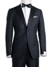 Caruso Tuxedo in Black Made of Super 130'S Wool Socks
