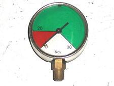 Mànomètre de pression 100 Bars-diamètre 52mm-WHITWORTH 28G