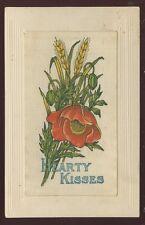 SILK Hearty Kisses Poppy Flowers early PPC