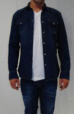 Le temps des Cerises Herren Jeans Hemd VIRGILO blau Gr. M, L Sports&Lifestyle