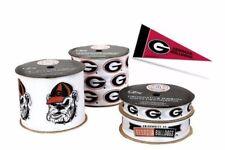 Georgia Bulldogs Licensed NCAA Ribbons & Mini Pennants
