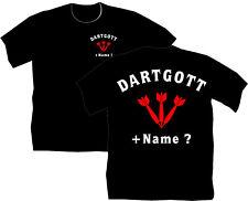 Dartshirt Dart T Shirt Hemden Bekleidung Dartclub Pfeile Dartgott Geschenk 10