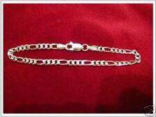 Figaro Armband Kette Silber 925, 18 cm