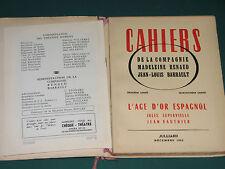 "Programme Théâtre Marigny RENAUD BARRAULT ""Le chien du Jardinier""  1955"