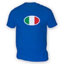 Drapeau Italien T-Shirt Hommes -x13 Couleurs- Cadeau Football Tasse Rugby