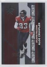 2006 Leaf Rookies & Stars Longevity Parallel #5 Alge Crumpler Atlanta Falcons
