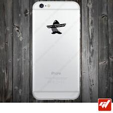 Sticker Autocollant Apple Iphone 4 5 6  Lot de 2X - MEXICAIN SOMBRERO  IPH37