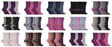 Jennifer Anderton - 6 paires femmes motif marque coloré chaussettes en coton