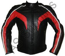 """""""REVELATION"""" New Leather Biker Motorcycle Jacket - Reflective Design - All sizes"""