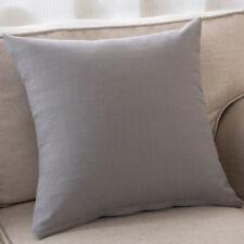 Lumbar Pillow Solid Cotton Without Inner Decorative Pillows Seat Decor Textile