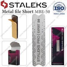 Staleks MBE-50 Nail file metal base & set of removable files 80 100 180 Grit