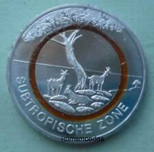 Deutschland 5 Euro 2018 Subtropische Zone Gedenkmünze Sammlermünze Wahl ADFGJ