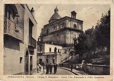 #FERRANDINA: chiesa di s. domenico- corso vitt. emanuele e villa comunale