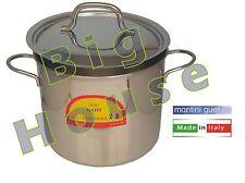 Pentola Acciaio Inox Sugo Pasta Brodo Bollire Stufato Induzione Cucina Cuocere