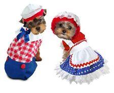 Ragdoll Costumes For Dogs Petticoat Polka Dot Dress Or Plaid Boy Jumpsuit