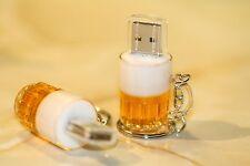 NUOVA birra in una tazza PEN/FLASH DRIVE MEMORY STICK regalo Memoria Portachiavi USB 2.0