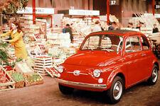 1965 Fiat Nuova 500 F - Promotional Photo Poster