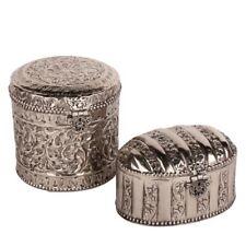 Orientalische Metall Dose Schmuckkästchen Zierdose Dekodose Metallbox Bonboniere