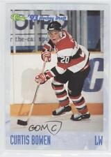 1993-94 Classic Draft #16 Curtis Bowen Ottawa 67's (OHL) Hockey Card