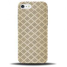 Golden Titanium Design On Plastic Phone Case Cover | Steel Novelty Gold B836