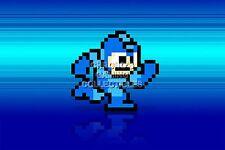 RGC Huge Poster - Mega Man Running Retro Art NES SNES 1 2 3 4 5 6 - MMN004