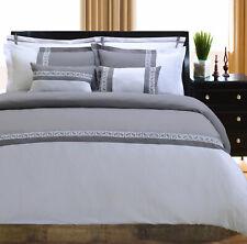 Emma 7-Piece Duvet Cover Set With Pillow Shams, 5 Colors