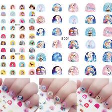 Kinder Nail Art * Nagel Sticker Aufkleber * Hello Kitty Frozen Prinzessin Disney
