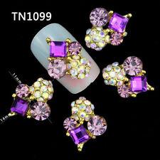 10Pcs 3D Fashion Nail Art Jewelry Rhinestones Glitter Tips DIY Decor Tools New