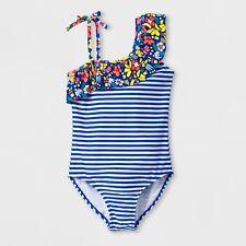 e610283d45 Girls Zamba Love One Piece Swimsuit - Cat   Jack Blue Plus Sizes -7