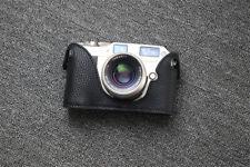 Genuine Leather Half Case for Contax G1 Camera Handmade Retro Protective Cover