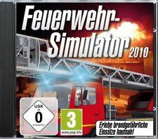Pompiers-simulateur 2010-pc cd rom-Neuf & immédiatement