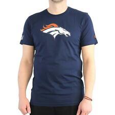 New Era NFL Denver Broncos Camiseta T-shirt Camisa Para Hombres,color azul