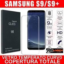 Pellicola Vetro Temperato Curvo Per Samsung Galaxy S9-S9 PLUS + proteggi schermo