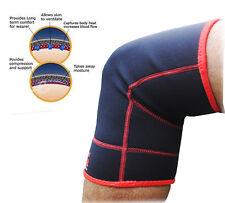 Pierna rodilla 2Fit soportan compresión Brace Almohadilla Guardia Proteger Lesión par de Trabajo Sport