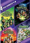 Teenage Mutant Ninja Turtles Collection 4 Film Favorites 1 2 3 Original DVD  NEW
