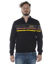 Felpa Emporio Armani EA7 Sweatshirt Hoodie % Uomo Nero 3ZPMA5PJ05Z-1200