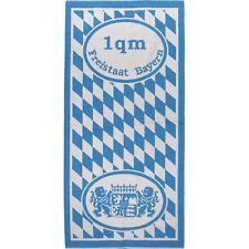 Freistaat Bayern Weiss Blau Frottier Handtuch 67x150 cm Duschtuch 1 Quadratmeter