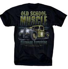 tee-shirt vieux école Muscle américain Rattitude rockabilly Cars V8