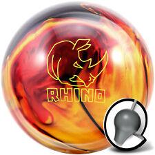 Bowling Ball Brunswick Rhino Red Black Gold Pearl 10-16 lbs, Reactive, Strike