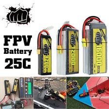25C High Capacity 850-16000mAh 2S 3S 4S 6S LiPo Battery For RC FPV HELIPLANE Car