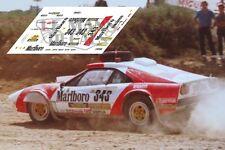 Calcas Ferrari 308 Baja Aragon Montesblancos 1:32 1:43 1:24 1:18 decals Zanini
