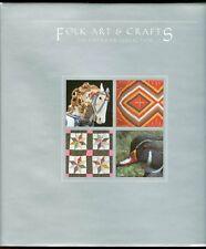 Folk Art&Crafts American Collection w/MNH 8 blocks of 4
