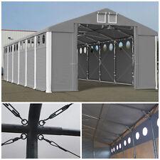 Lagerzelt 4x6-8x12 Zeltgarage mit Belichtung stabil Vereinszelt NEU Lagerhalle