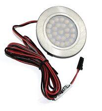 Einbauspots LED 2W=20W Flache IP20 12V Möbel-Einbaustrahler LED Warmweiss Weiss